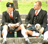 Now we know whats under those kilts!