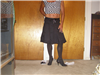 black salsa skirt