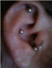piercings , newest it the Tragus, little nub