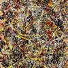 Number 5 by Jackson Pollock