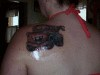 Mater from the movie Cars.. which is another cover up lol